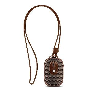 iBall Musi Dangle Portable Bluetooth Speakers (Brown)